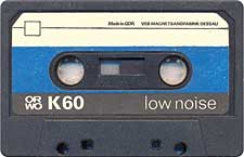 ORWO_K60_071130 audio cassette tape