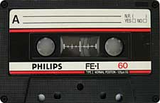 PHILIPS-FE-I-C60-23-04-2011 audio cassette tape