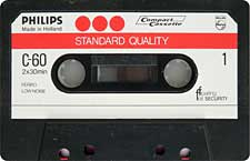 PHILIPS-STANDARD-QUALITY-C60-23-04-2011 audio cassette tape