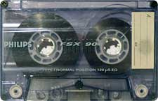 Philips_FSX_90_111227 audio cassette tape