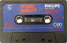 Philips_StudioQuality_C90_111227 audio cassette tape