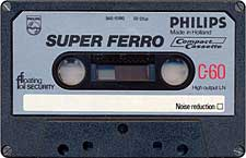 Philips_Super_Ferro_C60_071128 audio cassette tape