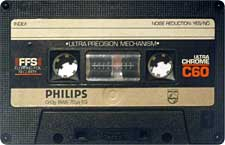 Philips_UltraChrome_C60_111227 audio cassette tape