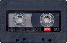 Profesional_Superchrom audio cassette tape