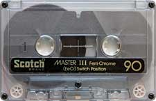 SCOTCH_ferrichrome_90_111227 audio cassette tape