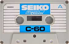SEIKO-C60_2-23-04-2011 audio cassette tape