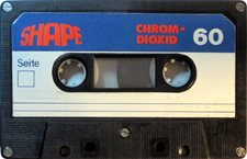 SHAPE C90_MCiPjH_121006 audio cassette tape