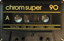 SILVER SOUND C90show_MCiPjH_121006 audio cassette tape