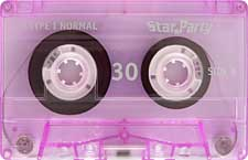 STAR-PARTY-C30-23-04-2011 audio cassette tape
