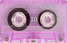 STAR-PARTY-C30-23-04-2011 audio cassette tape