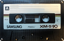 SamsungXM-5-90_MCiPjH_121006 audio cassette tape