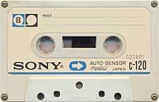 Sony_Autosensor_C120_Vechi_Albastru_071130 audio cassette tape