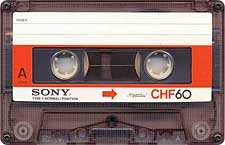 Sony_CHF_60_071130 audio cassette tape