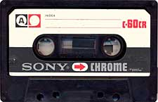 Sony_Chrom_60 audio cassette tape
