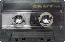 Sony_UX-S_60_111227 audio cassette tape