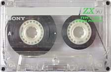 Sony_ZX90_111227 audio cassette tape