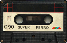 Super audio cassette tape