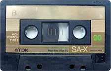 TDK-SAX90_111227 audio cassette tape