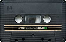 TDK-SAX90brown_111227 audio cassette tape