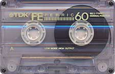 TDK_Fe_Ferric_C60_071128 audio cassette tape