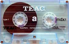 TEAC_mdx1_100_blue_111227 audio cassette tape