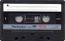 Technics_90LN_071128 audio cassette tape
