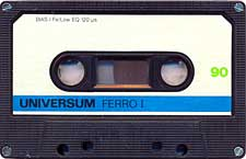 Universum_90 audio cassette tape