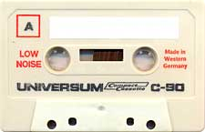 Universum_Vechi_90 audio cassette tape