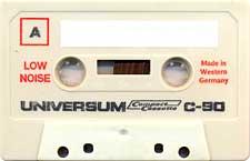 Universum_Vechi_90 audio cassette tape