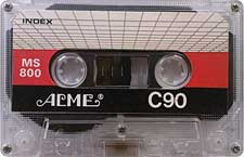acme_ms800_c90_081001 audio cassette tape
