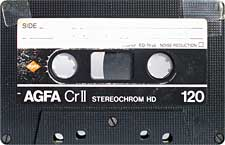 agfa_crii_120_071126 audio cassette tape