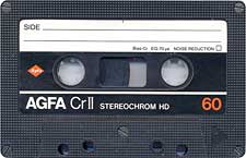 agfa_crii_60_080417 audio cassette tape