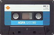 agfa_lnx90_080417 audio cassette tape