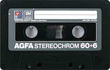 agfa_stereochrom_60+6_080417 audio cassette tape