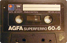 agfa_superferro_60_111214 audio cassette tape