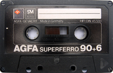 agfa_superferro_90+6 audio cassette tape