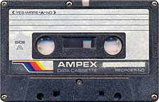 ampex_071201 audio cassette tape