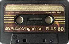 audiomagnetics_plus_60 audio cassette tape