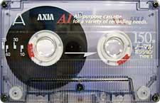 axia_a1_150_081001 audio cassette tape
