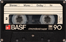 basf_chromdioxid_super_90 audio cassette tape