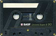 basf_chrome_super_ii_90_080417 audio cassette tape