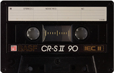 basf_crsii90_090802 audio cassette tape