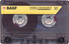 basf_ferro_standard_i_90_071201 audio cassette tape