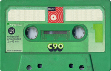 basf_gruen_c_90 audio cassette tape
