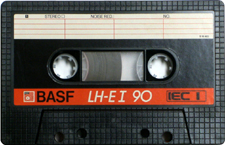 basf_lh-e-i_90_080417 audio cassette tape