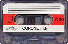 coronet_ln_c90_071201 audio cassette tape