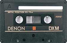 denon_dxm_60_080417 audio cassette tape