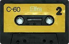 elfra_c-60_071201 audio cassette tape