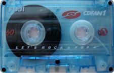 fuji_cdfan1_60 audio cassette tape