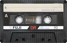 fuji_dr_90_071201 audio cassette tape